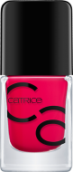 Лак для ногтей ICONails Gel Lacquer Catrice 01 All pinklisive малиновый: фото