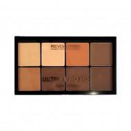Кремовая палетка для контурирования Makeup Revolution HD Pro Cream Contour Medium Dark: фото