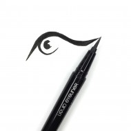 Подводка-фломастер MAKE-UP-SECRET черная (Liquid Eyeliner Pen): фото