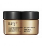 Маска - кондиционер для поврежденных волос с экстрактом красного женьшеня Llang, 140 мл: фото