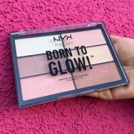 Палетка хайлайтеров NYX Professional Makeup Born To Glow Highliting Palette