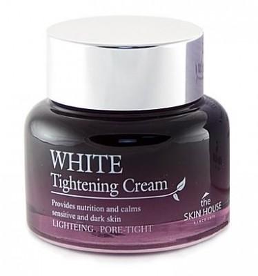 Крем для сужения пор и выравнивания тона лица THE SKIN HOUSE White tightening cream 50 мл: фото