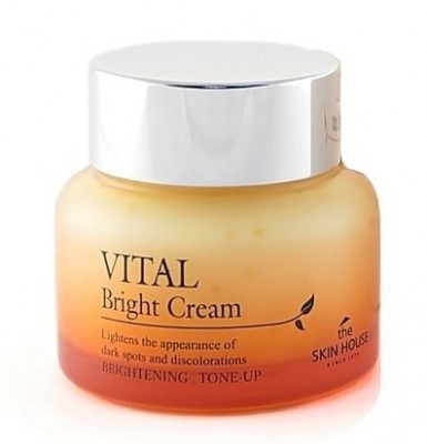 Крем витаминизированный осветляющий THE SKIN HOUSE Vital bright cream 50 мл: фото