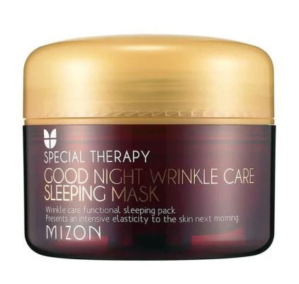 Маска ночная против морщин MIZON Good Night Wrinkle Care Sleeping Mask 75мл: фото