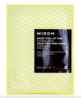 Тканевая маска успокаивающая MIZON Enjoy Vital Up Time Calming Mask 25мл: фото