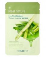 Маска с экстрактом бамбука THE FACE SHOP Real nature mask sheet bamboo 20г.: фото