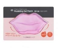 Маска для губ гидрогелевая THE FACE SHOP Cherry cherry lips modeling gel patch 10г: фото