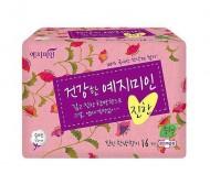 Прокладки гигиенические Натуральный хлопок YEJIMIN Rich herb cotton sanitary pads (small) 16шт (малые): фото