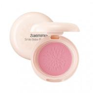 Румяна стойкие матовые THE SAEM Saemmul Smile Bebe Blusher 01 Rose Pink(N) 6гр: фото