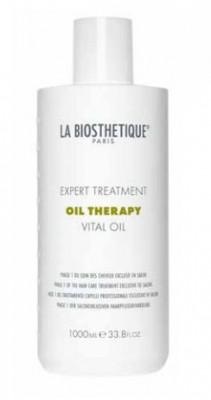 Масляный уход для интенсивного восстановления поврежденных волос, фаза 1 La Biosthetique Vital Oil 1000 мл: фото