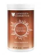 Скраб изысканный релаксирующий с какао Janssen Cosmetics Sweet Temptation Delicious Seduction Scrub 1000мл: фото