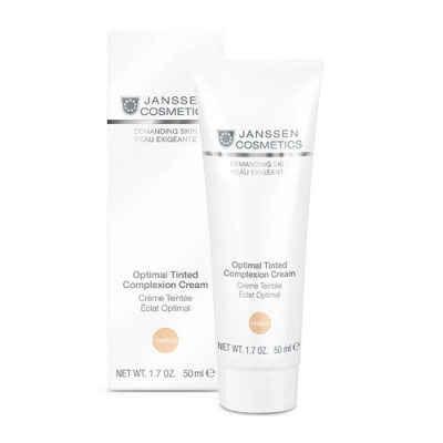 Крем дневной Janssen Cosmetics Optimal Tinted Complexion Cream Medium SPF10 50мл: фото