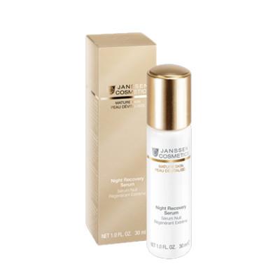 Сыворотка ночная восстанавливающая Janssen Cosmetics Night Recovery Serum Anti-age 30 мл: фото