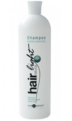 Шампунь увлажняющий Семя льна Hair Company Hair Natural Light Shampoo Idratante ai Semi di Lino 1000мл: фото