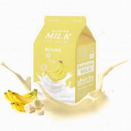 Тканевая маска молочная с бананом A'PIEU Banana Milk One-Pack: фото
