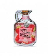 Маска тканевая фруктовая Baviphat Strawberry Juicy Mask Sheet(pore & trouble) 23гр: фото