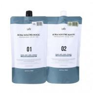 Средство для выпрямления волос Lador Aura Volume Magic - Healthy 500мл+500мл: фото