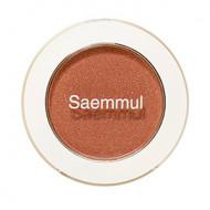 Тени для век мерцающие The Saem Saemmul Single Shadow Shimmer BR18 Candy Brown 2гр: фото