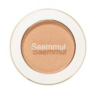 Тени для век мерцающие The Saem Saemmul Single Shadow Shimmer BE06 Lonely Beige 2гр: фото