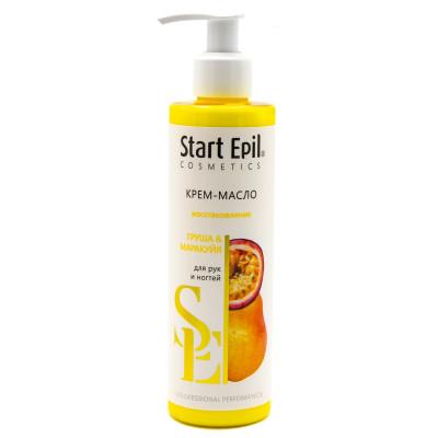 Крем-масло для рук Груша и Маракуйя Aravia professional Start Epil 250 мл: фото