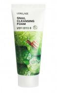 Очищающая пенка с улиточным муцином LEBELAGE Snail Cleansing Foam: фото