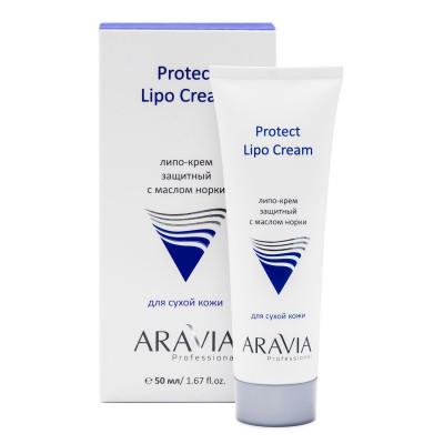 Липо-крем защитный с маслом норки ARAVIA Professional Protect Lipo Cream 50 мл: фото