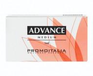 Гель на основе стабилизированной гиалуроновой кислоты для коррекции морщин средней глубины и губ PromoItalia Advance medium PF1 1мл: фото