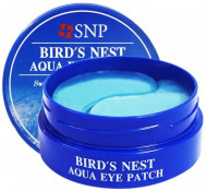 Патчи для глаз SNP BIRD'S NEST AQUA EYE PATCH RENEWAL 1,25г*60: фото