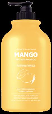 Шампунь для волос МАНГО EVAS Pedison Institute-Beaute Mango Rich Protein Hair Shampoo 500 мл: фото