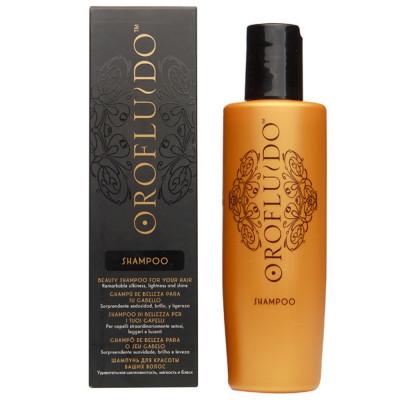 Шампунь для шелковистости, мягкости и блеска всех типов волос Orofluido Original Beauty Shampoo 200мл: фото