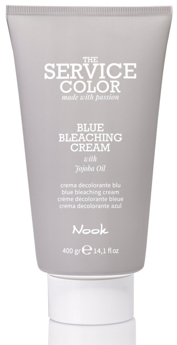 Осветляющий Крем NOOK BLUE BLEACHING CREAM THE SERVICE COLOR 400 гр: фото