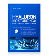 Маска тканевая увлажняющая SOME BY MI Hyaluron Moisturizing Glow Luminous Ampoule Mask: фото