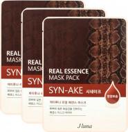 Тканевая маска с пептидом Syn-Ake Juno JLUNA Real Essene mask pack Syn-Ake 25мл*3шт: фото