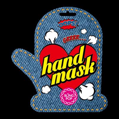 Маска для рук с маслом ши BLING POP SHEA BUTTER HEALING HAND MASK 18г: фото