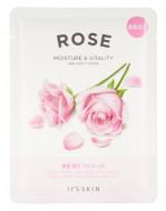 Тканевая маска укрепляющая с розой It'S SKIN The Fresh Rose Mask Sheet 20 г: фото