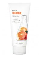 Пенка смягчающая с апельсином It'S SKIN Have a Orange Cleansing Foam 150мл: фото