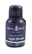 Хна для бровей Royal Brow Light Brown, Светло-коричневый 15мл: фото