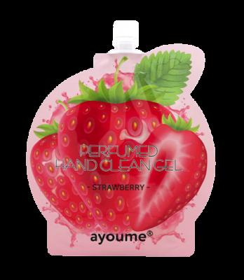 Гель для рук антибактериальный AYOUME perfumed hand clean gel strawberry 20мл: фото
