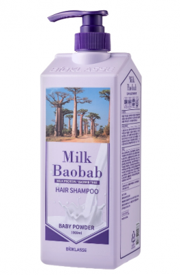 Шампунь для волос с ароматом детской присыпки Milk Baobab Original Shampoo Baby Powder 1000мл: фото
