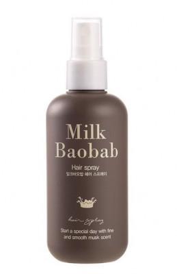 Спрей для волос ухаживающий фиксирующий Milk Baobab Hair Spray 110мл: фото
