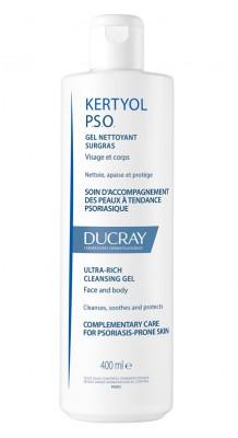 Cверхпитательный очищающий гель Ducray Kertyol P.S.O. surgras 400 мл: фото