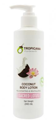Лосьон для тела СВЯЩЕННЫЙ ЛОТОС TROPICANA Coconut Body Lotion Sacred Lotus 240мл: фото