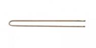 Шпильки прямые Sibel 65мм бронзовые 50шт: фото