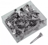 Зажимы для волос металлические, маленькие Sibel 100шт: фото