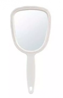 Косметическое зеркало с ручкой Sibel 10*23см: фото