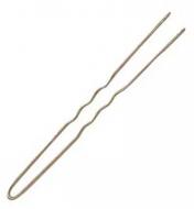 Шпильки волнистые Sibel 70мм бронзовые 50шт: фото
