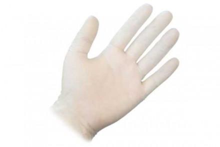 Перчатки одноразовые виниловые Sibel Размер S 100шт: фото