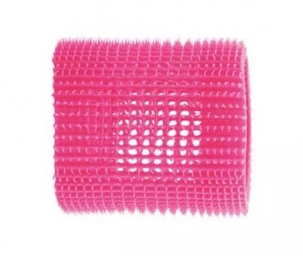 Бигуди пластиковые Eurostil 65мм, розовые 4шт: фото