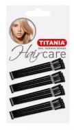 Невидимки прямые Titania 7см черные 20шт: фото