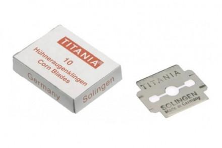 Лезвия для педикюрного скребка Titania 10 шт: фото